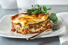 Photo: Beef and grilled vegetable moussaka The Lebanese Recipes Kitchen (The home of delicious Lebanese Recipes and Middle Eastern food . Beef Lasagne, Lasagne Recipes, Lasagna, Lebanese Recipes, Greek Recipes, Yummy Recipes, Recipies, Leftover Lamb Recipes, Leftovers Recipes