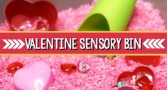 Valentine Play Dough Activity - Pre-K Pages Valentines Songs For Kids, Valentine Sensory, Valentines Day Activities, Preschool Themes, Preschool Activities, Motor Activities, How To Make Oobleck, Sensory Bins, Sensory Play