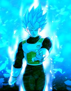 Vegeta from the Dragon Ball Super anime