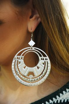 On An Adventure Earrings: Silver  #shophopes