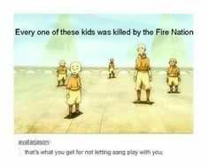 Avatar: The Last Airbender, Aang, The Fire Nation, The Air Nomads Avatar Aang, Avatar Airbender, Avatar The Last Airbender Funny, Avatar Funny, Team Avatar, Satire, Sneak Attack, Avatar Series, Iroh
