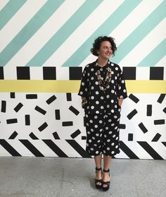 Camille Walala's colourful exhibition at the Now Gallery