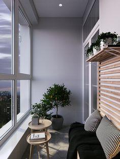 56 cozy apartment balcony good decorating ideas 2019 page 41 Apartment Balconies, Cozy Apartment, Apartment Design, Small Balcony Design, Small Balcony Decor, Balcony Ideas, Interior Balcony, Balkon Design, House Numbers