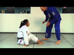 Emily Kwok How to use the Seated Guard to Sweep a Bigger, Stronger Opponent - YouTube