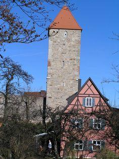 Dinkelsbühl - Germany - Hagelsturm