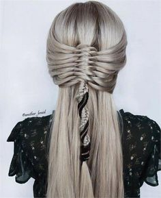 17 Braids to Blow Your Mind: Meet the Braid Master Behind - Hairstyling & Updos - Modern Salon French Braid Styles, Box Braids Hairstyles, Beach Hairstyles, Hairstyles Pictures, Baddie Hairstyles, Men's Hairstyles, Beautiful Hairstyles, Formal Hairstyles, Hairdos