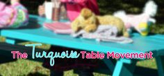 why EVERY YARD should have one of these - share this pin with your friends and family, and let's do our part to spread the Turquoise Table Movement!!!!