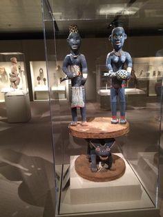 Estatuas africanas.