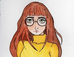"Check out new work on my @Behance portfolio: ""Menina de óculos"" http://be.net/gallery/54440175/Menina-de-oculos"