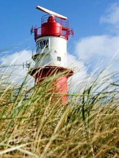 Borkum: Elektrischer Leuchtturm