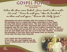 Gospel Power - Solemnity of Pentecost