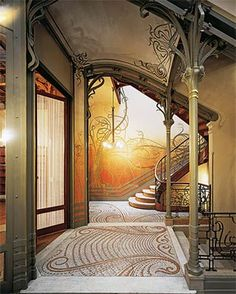 Victor Horta's reputation as one of the foremost influences on Art Nouveau is based in part on the Hotel Tassel, a townhouse he built for the scientist Emile Tassel.