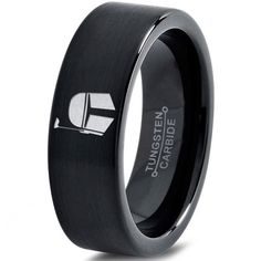 Bounty hunt in style with this Star Wars Inspired Mandalorian Mythosaur Tungsten Ring. ★ High Quality Tungsten Carbide ★ Comfort Fit ★ Black and 18k Rose Gold E