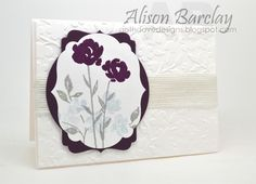 Gothdove Designs - Alison Barclay - Stampin' Up! Australia - Stampin' Up! Painted Petals - Create with Connie & Mary Challenge.