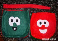 Veggie Tale Bags