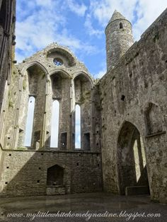Rock of Cashel, Ireland. My little white home by Nadine: Gastvrij Ierland