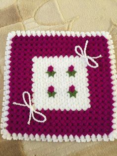 This Pin was discovered by HUZ Crochet Girls Dress Pattern, Crochet Mandala Pattern, Crochet Patterns, Crochet Animals, Crochet Hats, Woolen Craft, Granny Square Blanket, Crochet Accessories, Crochet Flowers