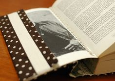 Paperback Bookcover  - tutorial for making the fabric covers
