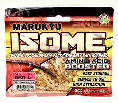 Marukyu Isome Grab & Go Sandworm Pack L Amino Acid Boosted Fishing Bait Fishing Bait, Amino Acids, Packing, Amp, Ebay, Bag Packaging