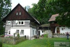 Česko, Střehom - Roubený vodní mlyn