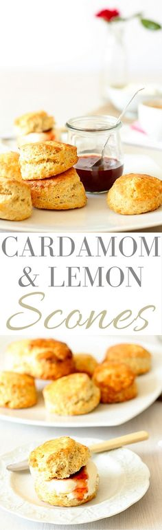 Lemon and Cardamom Scones - Recipes From A Pantry