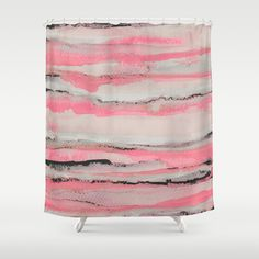 Layers Shower Curtain by Georgiana Paraschiv - $68.00