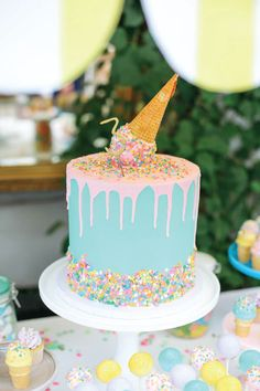 You scream, I scream, we all scream for ice cream! What toddler wouldn't love this fun and colorful ice cream-themed birthday party? To create your very own version of this kid's party idea, check out these DIY party decorations and fun baking ideas to add to your toddler's big day.