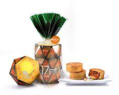 Pineapple Pastry Food Packaging
