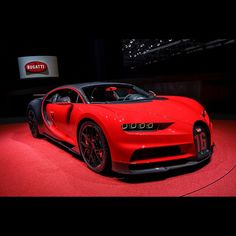 Bugatti @Bugatti unveiled their new #Chiron #Sport at today's #gims2018 It looks stunning in #red!! #bugatti #chiron #ultimate #power #performance #luxury #speed #topspeed #fastest #hypercar #supercar #sony #sonyimages #alphauniverse #sonyalpha #a9 #2470gm #sgiambassadors #bugattisupercar