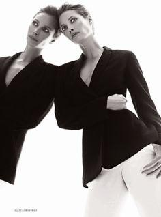 Christy Turlington by Alexi Lubomirski for Harper's Bazaar UK January 2014 Christy Turlington, Linda Evangelista, Harpers Bazaar, White Fashion, Celebrity Photos, Fashion Photography, Cashmere, Celebrities, Beauty