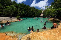 Emerald Pool Krabi, Thailand
