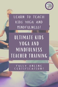 Learn to teach kids yoga and mindfulness! Fully online certification with tons of lesson plans, videos, teaching tools and more to help you learn the BEST strategies and techniques for teaching kids yoga and mindfulness in ANY setting. #teachertraining #kidsyoga #Mindfulnessforkids Leadership Courses, Childrens Yoga, How To Teach Kids, Mindfulness For Kids, Emotional Regulation, Yoga At Home, Yoga Teacher Training, Yoga For Kids, Teaching Tips