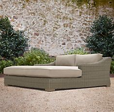 Restoration Hardware Provence Collection Double Chaise