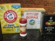 Here is a recipe for homemade dishwasher soap/detergent. It cost only $0.07 a load to make!