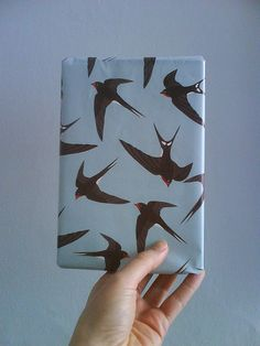 Barn swallow wrapping paper\