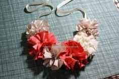 DIY Tutorial Tutorials for My Hair Accessories / DIY fabric flowers - Bead&Cord