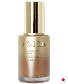 Flood your skin with light, moisture and weightless coverage with radiant Stila Aqua Glow Serum Foundation. Instantly blur, hydrate and perfect the look of skin with buildable to full coverage. Multi-reflective pigments deflect light so that your skin tone looks perfected without relying on heavy, unnatural looking colored pigments.