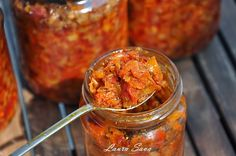 Canning Pickles, Canning Vegetables, Romanian Food, Canning Recipes, Preserves, Vegetarian Recipes, Food And Drink, Mexican, Ethnic Recipes