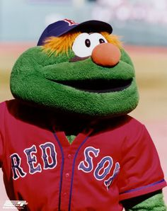 138 Best Wally The Green Monster Images Green Monsters Boston Red