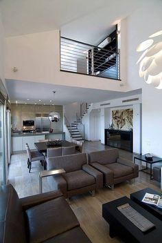 Nice layout, would need lighter colors for seating to brighten up the space