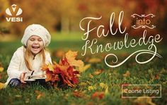 Fall into Knowledge with VESi Online Courses