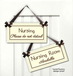 kasefazem personalized two-sided doorknob hanger signs are a funny and beautiful addition for decorating your house, guests house, office or shop, and Nursery Inspiration, Nursery Ideas, Room Ideas, Kids Church, Church Ideas, Church Nursery Decor, Church Lobby, Parents Room, Nursing Mother