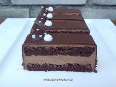 Pařížské řezy - Víkendové pečení Czech Desserts, Desserts To Make, Slovak Recipes, Czech Recipes, Oreo Cupcakes, Cupcake Cakes, Baked Brie Appetizer, Food Tags, How Sweet Eats