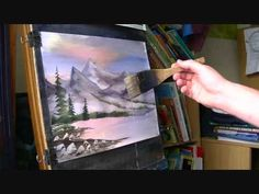 Learn How to Paint Mountains in Watercolor #3