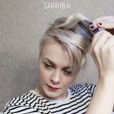 Check out another great styling video by @sarahb.h . Comment below 1. Yes post more of these 2. No don't post more