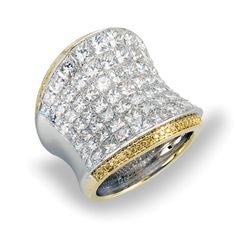 Gorgeous ring by Simon G (Fashion Collection) #MR2015  **Available at South Coast Jeweler**
