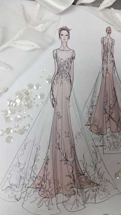 Fashion Sketches Wedding Style Ideas For 2019 Fashion Sketches Wedding Style . - Fashion Sketches Wedding Style Ideas For 2019 Fashion Sketches Wedding Style Ideas For 2019 - Dress Design Sketches, Fashion Design Drawings, Fashion Sketches, Wedding Dress Sketches, Wedding Dress Illustrations, Wedding Drawing, Dress Designs, Fashion Drawing Dresses, Fashion Illustration Dresses