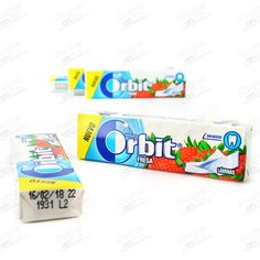 CHICLE ORBIT LAMINA FRESA 20 U