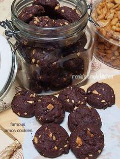 20 Ideas chocolate cake cookies peanut butter for 2019 Amos Cookies, Choco Chip Cookies, Choco Chips, Cake Cookies, Double Chocolate Chip Cookie Recipe, Oatmeal Cookie Recipes, Chocolate Chip Oatmeal, Famous Amos Chocolate Chip Cookies Recipe, Crunchy Cookies Recipe