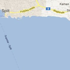 Split Hostels Map, Croatia | Hostelworld.com